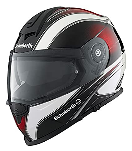 Casque de moto rouge vague SCHUBERTH S2