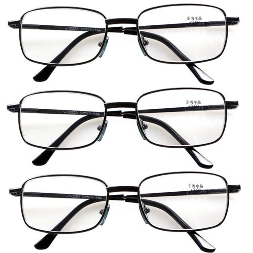 3 PRS Southern Seas Unisex Adults +4.00 Classic Everyday Reading Glasses 7 Strengths Available Sea Arm Vii Set