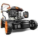 FUXTEC Rasenmäher FX-RM20SA60 Mulchmäher mit Antrieb