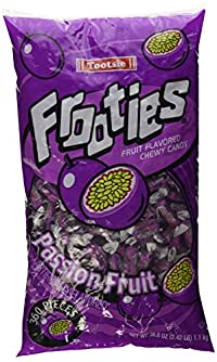 Tootsie Frooties Passion Fruit Flavor 360 Pieces