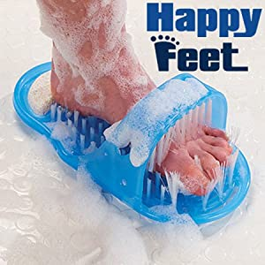 Happy feet scrubber Foot Cleaner scrubber washer bath brush massage