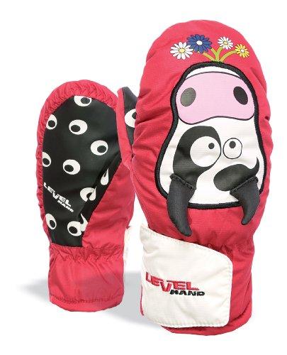 LEVEL Kinder Handschuh Animal, Red, 2