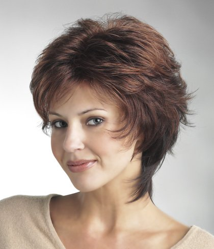 Tony of Beverly Womens Synthetic Wig ''Tawny''-Cherry Brown: 6/33/Burgundy blend