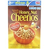 Cheerios Honey Nut Cereal, 12.25-Ounce Boxes (Pack of 3) ~ General Mills Cereals