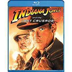Indiana Jones & Last Crusade [Blu-ray]
