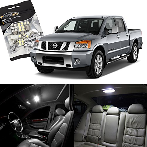 partsam-2004-2012-nissan-titan-white-interior-light-led-package-kit-10-pieces