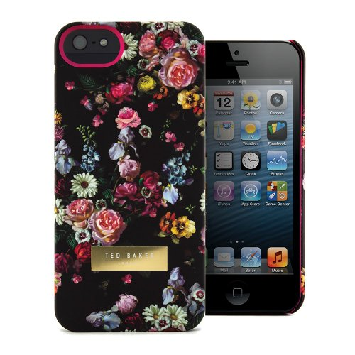 Great Sale Ted Baker 15299 Hard Shell Case for iPhone 5 / 5S - Retail Packaging - Rici