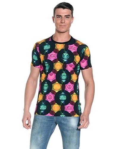 Love Moschino T-Shirt Manica Corta [Multicolore]
