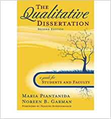 qualitative research dissertations The qualitative research method don't miss a free consultation with the premier experts in dissertations and theses your future depends on your study.