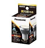 パナソニック LED電球 E11口金 ダイクロビーム球65W形相当 電球色相当(7.6W) ハロゲン電球・広角タイプ(ビーム角30度)・調光器対応 LDR8LWE11D