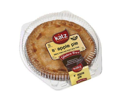 Katz Gluten Free Family Size Apple Pie, 20 Ounce, Certified Gluten Free - Kosher - Dairy, Nut & Soy free - (Pack of 1)