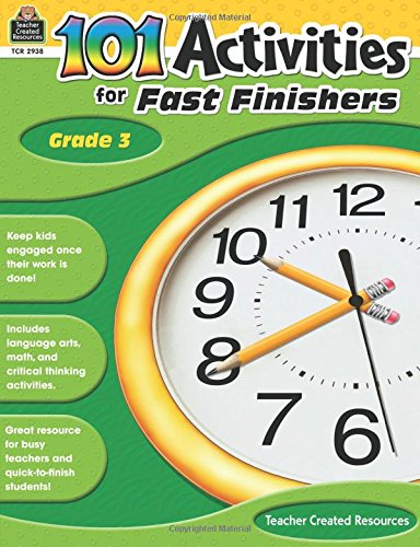 101 Activities For Fast Finishers Grd 3