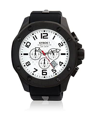 KYBOE! Reloj automático Unisex Negro 55 mm