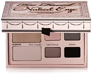 Too Faced Cosmetics, Naked Eye Palette, 0.36-ounce