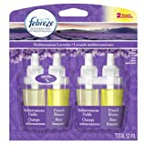 Febreze Noticeables Mediterranean Lavender Air Freshener Refill (2 Count; .879 Fl Oz Each), 1.758 Ounce