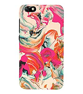 Colorful Abstract 3D Hard Polycarbonate Designer Back Case Cover for Huawei Honor 4X :: Huawei Glory Play 4X