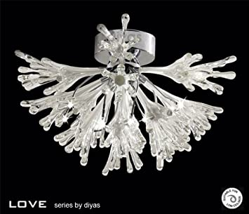Love Ceiling 9 Light Polished Chrome   @Best Offers