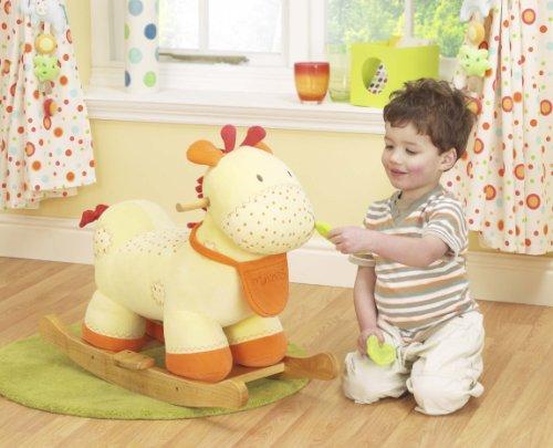 Lollipop Lane Tiddy Wink Safari - Dondolo giraffa 'Hector'