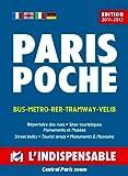 echange, troc Plans Indispensable - Plan de ville : Paris Poche, avec index des rues