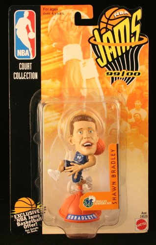 SHAWN BRADLEY / DALLAS MAVERICKS * 99/00 Season * NBA JAMS Super Detailed * 3 INCH * Figure