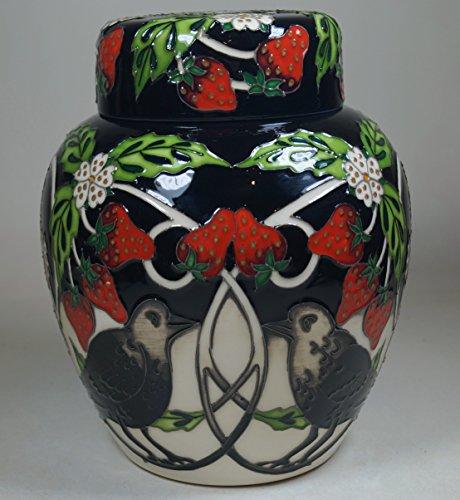 Moorcroft Pottery Evesham Limited Edition 13/60 Ginger Jar 769/6 Carey The Crow 1st