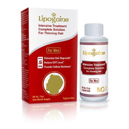 Lipogaine for Men: Intensive Treatment & Complete