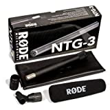 510ZgDnojhL. SL160  Rode Microphones NTG3 Shotgun Microphone