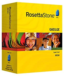 Rosetta Stone Irish Level 1 & 2 set with Audio Companion