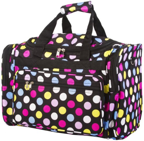 Buy Fun Multi Polkadots Duffle Dance Cheer Gym Travel Bag
