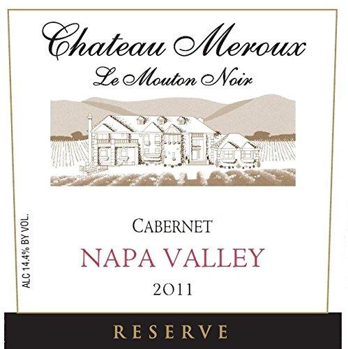 2011 Chateau Meroux Reserve Napa Valley Cabernet Sauvignon 750Ml