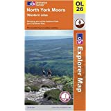 North York Moors: Western Area (OS Explorer Map)by Ordnance Survey