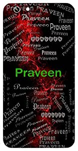 Praveen (Expert, Skilled) Name & Sign Printed All over customize & Personalized!! Protective back cover for your Smart Phone : Moto X-Play