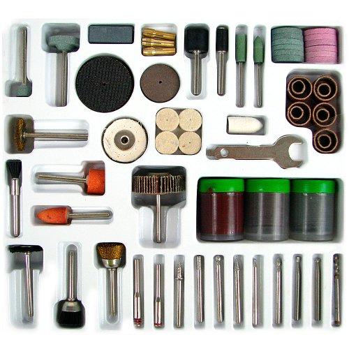 Stalwart 75-9900 Hawk 138-pc Rotary Tool Polishing, Drilling, Cutting Accessory Kit