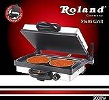 ROLAND Elektrogrill Multigrill Kontaktgrill Grill Toaster 1zu1