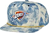"Oklahoma City Thunder Mitchell & Ness ""Blue Acid Wash Denim"" Snap Back Hat at Amazon.com"