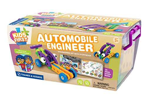 Kids First Automobile Engineer Kit (Building Toys For Preschoolers compare prices)
