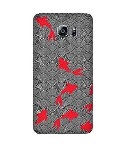 Pink Fish Samsung Galaxy Note 5 Edge Case