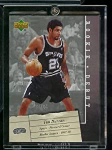 2006  07 Upper Deck Tim Duncan Rookie Debut San Antonio Spurs Basketball Card #85-... by Upper Deck