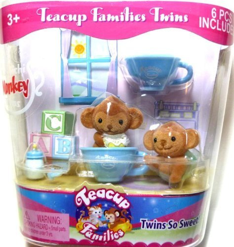 "Teacup Families Twins ""Machichi Monkey Twins"" - 1"