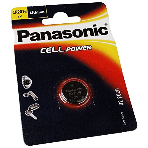 Panasonic CR2016 Lithium Batterie pile bouton 3V
