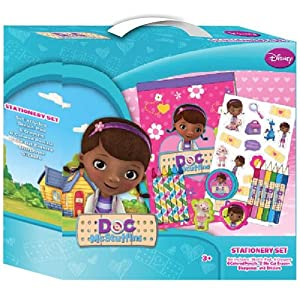 Doc McStuffins Stationery box set