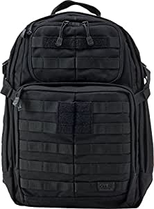 5.11 Tactical 1 Day Rush Backpack, Black, 1 Size