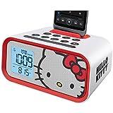 Hello Kitty Dual Alarm Clock Speaker System (HY-M23)