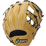 asics(アシックス)【BGH3LK】硬式用スピードテック(内野手用)1490ゴールデンブラウン×ブラック LH