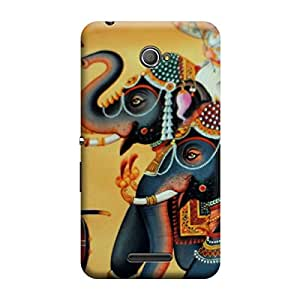 CaseLite Premium Printed Mobile Back Case Cover With Full protection For Sony Xperia E4 (Designer Case)
