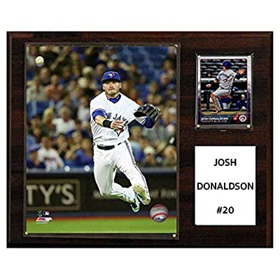 C and I Collectables MLB 15W x 12H in. Josh Donaldson Toronto Blue Jays Player Plaque