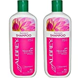 Aubrey Organics Swimmer s Shampoo and pH Neutralizer with Jojoba Oil and Quinoa for All Hair Types, 11 fl oz (325 ml) (Pack of 2)