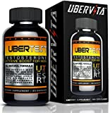 Ubervita Ubertest All Natural Testosterone Booster for Men, 60 Count