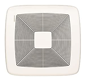 Broan qtxe080 ultra silent bath fan 80 cfm white grille - Recommended cfm for bathroom fan ...