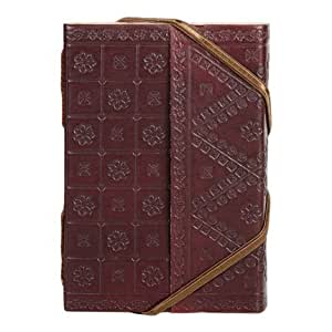 Leather Bound Travel Journal - Fair Trade